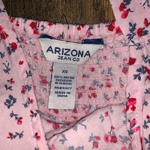 Arizona pink/red flower romper